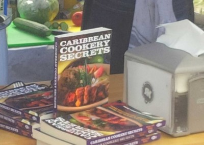 Caribbean Cookery Secrets - book sales