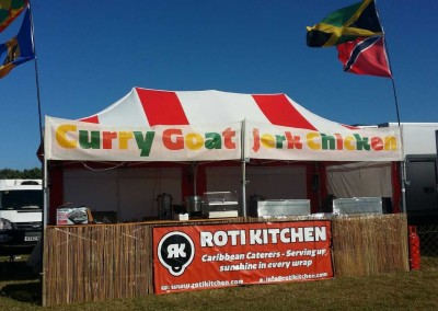 Roti Kitchen - street food stall 2016