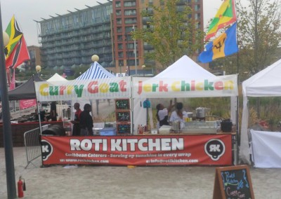 roti kitchen - street food stall 2012